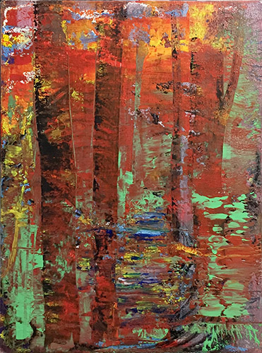 'Leuchtend' - Acryl - Annemarie Seidel - artelier41