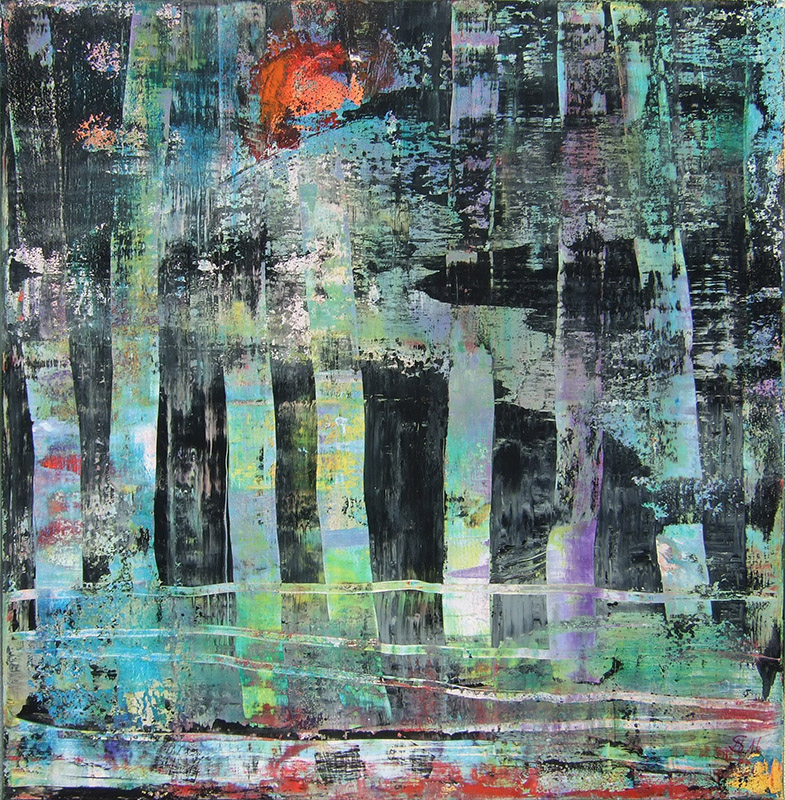 'Moor I' Acryl - Annemarie Seidel - artelier41