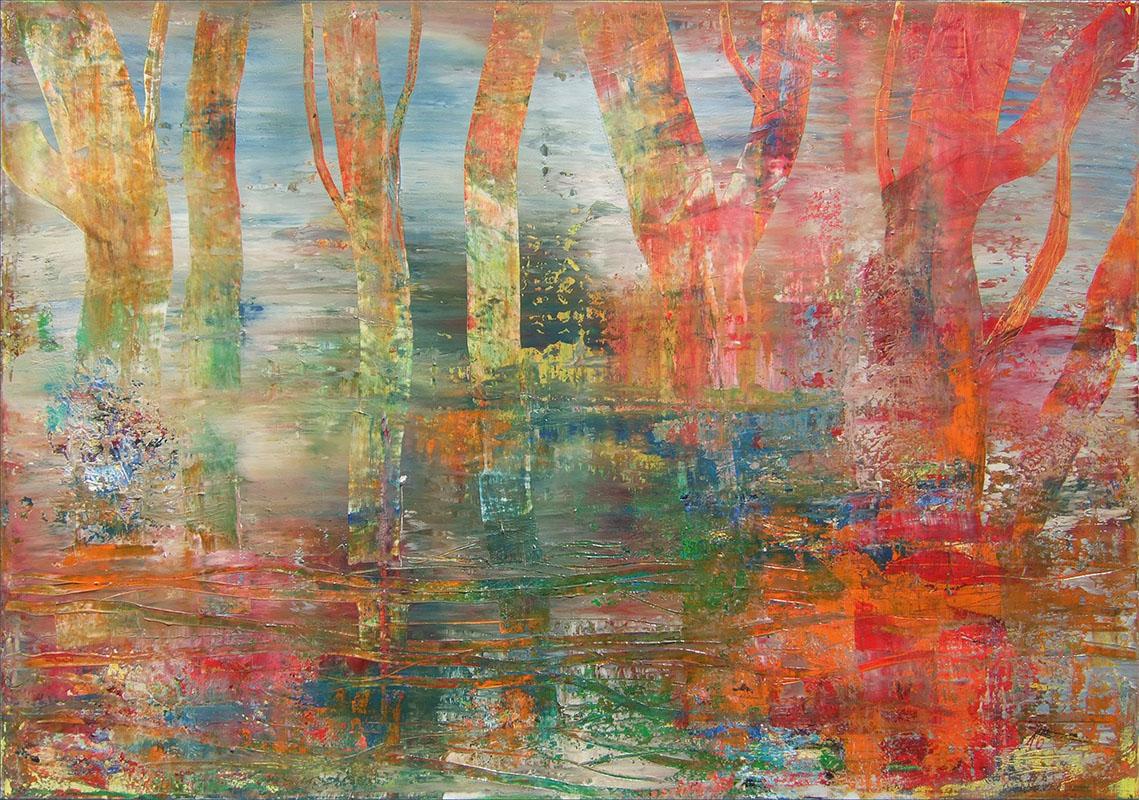 'Moor II' Acryl - Annemarie Seidel - artelier41