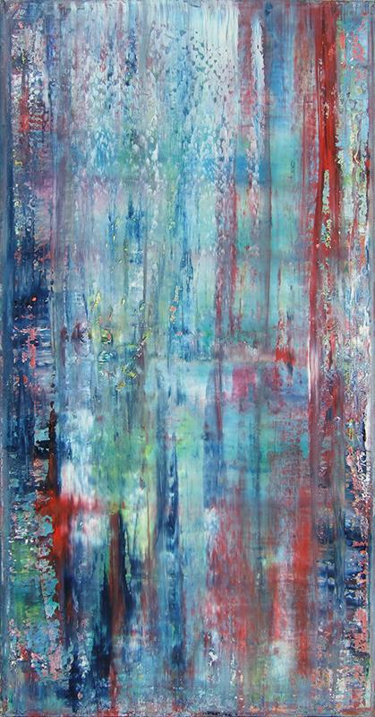 'Abstrakt' - 100 x 50 - Annemarie Seidel - artelier41