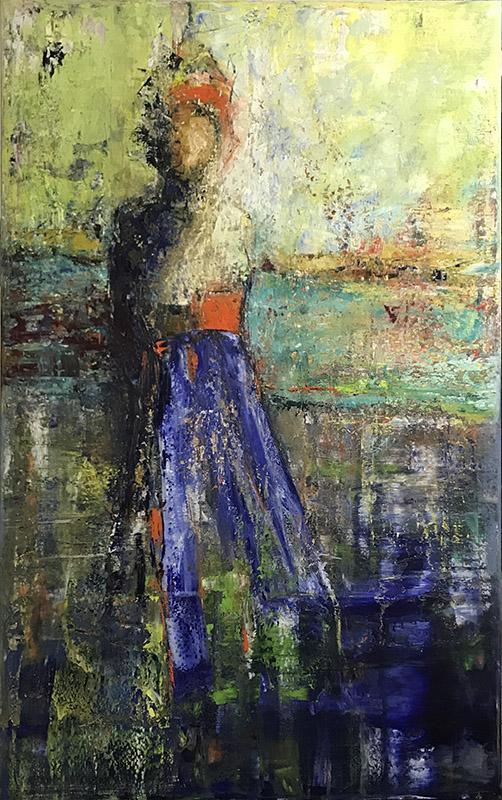 'Unbekannt' - Öl - Annemarie Seidel - artelier41