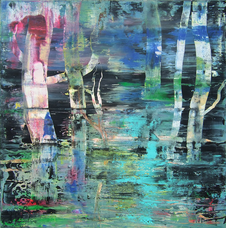 'Moor III' Acryl - Annemarie Seidel - artelier41