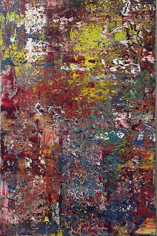 'Abstraktion' - Acryl -Annemarie Seidel - artelier41