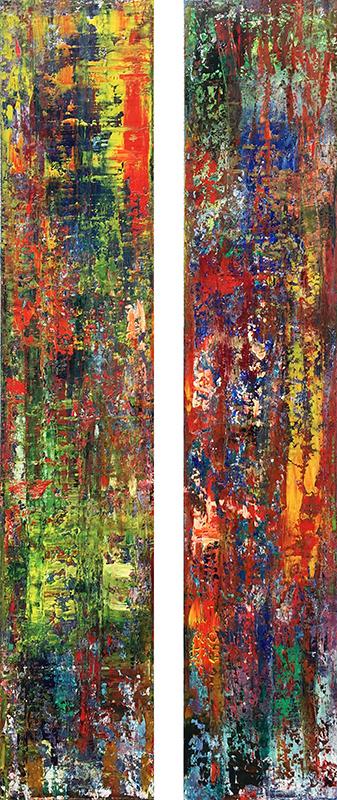 'Abstraktionen' - Öl - Annemarie Seidel - artelier41