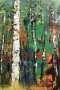 'Birken' - Acryl - Annemarie Seidel - artelier41