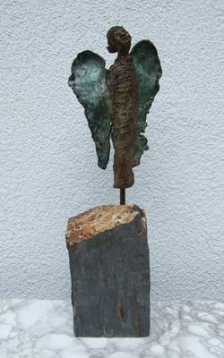 Bronze Engel - Annemarie Seidel - artelier41