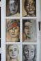 'Überzahl' - Motivfenster - Papier Acryl - Annemarie Seidel - artelier41