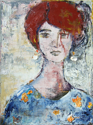 'Artemisia' - Öl auf Leinwand - 60 x 80 cm