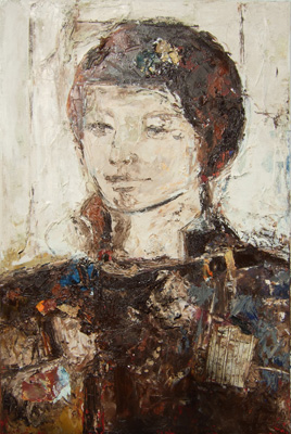 'Francesco d'Este' - Öl auf Leinwand - 90 x 100 cm