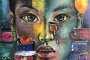 'Loslassen' - Acryl - 80 x 80 cm - Annemarie Seidel - artelier41