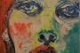 'Sorah' - Acryl auf Leinwand - 15 x 15 cm - Annemarie Seidel - artelier41
