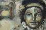 'Michael Jackson' - Acryl auf Leinwand - 40 x 50 cm - Annemarie Seidel - artelier41