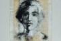 'Sybille' - Acryl - Papier - Papyrus - Leinwand - 50 x 60 cm - Annemarie Seidel - artelier41