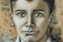 'Vater' - Öl auf Leinwand - 80 x 80 cm - Annemarie Seidel - artelier41
