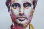 'Modigliani'' - Acryl auf Papier - 40 x 50 cm