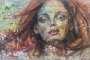 'Die im Wind stehen I' Acryl / Mischtechnik auf Leinwand - 100 x 60 - Annemarie Seidel - artelier41